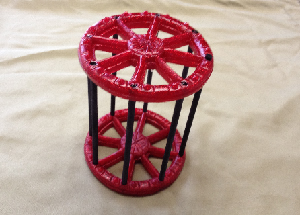 Red Standard Cage - Made for any Dragon