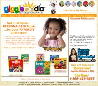 Giggle Media, Charmyn Group LLC, Designed, Marketed and Maintained by WebPaws.com