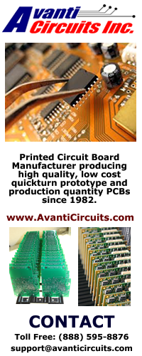 Logo Banner Design for Avanti Circuits on Social Media Sites