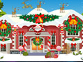 Christmas House Decoration played 938 times to date.  Get ready to deck the halls. Show your Xmas spirit and decorate this holiday house from top to bottom.