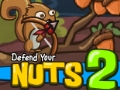 Defend Your Nuts 2 played 3116 times to date.  The monsters return, yet the squirrel will prevail with his bunny friends.  Collect coins and supplies to keep your defenses strong. The nuts must be protected or the game will end