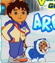 Dora and Diego Arctic Adventure played 1,349 times to date.  Help Dora and Diego navigate through the Artic and rescue various animals.