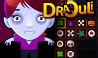 Draculi played 1,240 times to date.  Try out this ghoulish version of Mahjong...if you dare. It's perfect for Halloween!