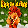 Eggsplosive played 169 times to date.  Eggsplosive is a silly chain reaction game where you must explode chickens that are bursting with eggs to hit other farm animals roaming in the pasture