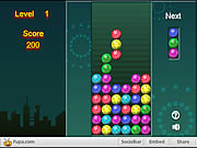 Firework Columns played 833 times to date.  In this puzzle game, columns of 3 firework bombs will fall down from the top of the screen, and it is your job to arrange the bombs so that 3 or more bombs of the same colou
