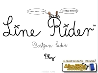 Line Rider played 2,309 times to date. Line Rider is a fun online game where you draw tracks and ride the lines!