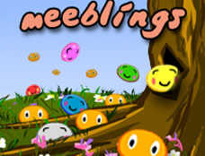 Meeblings played 448 times to date.  Help the Meeblings! Use the Meeblings special abilities to rescue as many as possible each level