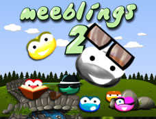 Meeblings 2 played 578 times to date.  Two brand new Meeblings are here to help you through 50 all new levels in this long awaited Meeblings seque