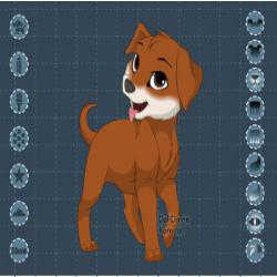 Puppy Maker played 1,456 times to date.  Create your own puppy.  You can color most all puppy parts to custom make your own unique woof woof!