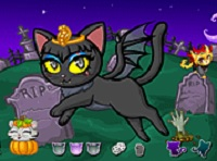 Purrfect Kitten Halloween played 181 times to date. Dress the pet in a tutu dress or in a witch costume, in a monk costume or in a spooky ghost costume and once you've decided on the wining one, find the right hat or head accessory to match it up with!