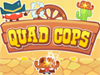 Quad Cops played 77 times to date.  This Wild West town is overrun with bandits. Help this brave sheriff clean up the place with his arsenal of bombs and chili peppers in this rootin' tootin' skill game.