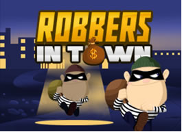 Robbers in Town played 36 times to date. Can you help the robbers escape?