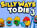Silly Ways to Die 3 played 239 times to date. These crazy creatures have decided to work at a dangerous construction site. Can you help them stay safe and avoid getting killed by everything from drills to falling bricks in this action game?