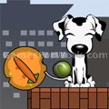 Smart Dogs  played 723 times to date. Launch the ball from one dog tail to the other. Place objects to help the ball reach the other dog.