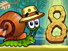 Snail Bob 8 played 710 times to date. Bob's back-and this time he's stranded on an island! Watch out for cannibals...