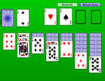 Klondike Solitaire played 792 times to date.  Klondike Solitaire is a version of solitaire popularized by Microsoft Solitaire.