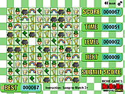 St. Patrick's Tri Match played 387 times to date.  Match Special Green Tiles for Chain Bonuses!