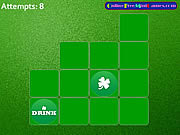 St Patricks Pairs 2 played 453 times to date.  St Patricks Pairs 2 is a fun paired cards game. match up the picture pairs together in the least amount of guesses possible to gain the top score