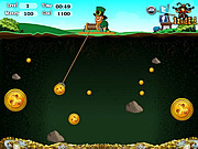 St Patricks Gold Miner played 1,129 times to date.   Collect the target amount of gold before the time runs out and enters the successive levels or else the game will get over