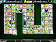 St Patricks Mahjong played 969 times to date.  This time play Mahjong game in st patrick's theme. Match the blocks with similar images and remove them from the board. Have fun