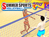 Summer Sports: Beach Volleyball played 175 times to date.  Slap on the sunscreen and hit the beach for a fast-paced volleyball showdown! Serve, smash and block your way to glory in this beach volleyball simulation! Combine in a PvP tournament with other Qlympics games to become the ultimate champion!