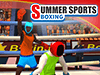 Summer Sports: Boxing played 186 times to date.  Float like a butterfly, sting like a bee! Grab your gloves and go for gold in this epic boxing simulation! Combine in a PvP tournament with other Qlympics games to become the ultimate champion!