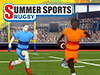 Summer Sports: Rugby played 158 times to date.  Go for gold and glory as you rough it up in a game of rugby! Run as far as you can, dodge vicious tackles and blindside your opponent with spectacular drop-goals! Combine in a PvP tournament with other Qlympics games to become the ultimate champion!