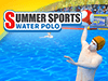 Summer Sports: Water Polo played 164 times to date.  Will you sink or swim as you go for gold in this Olympic-inspired water polo showdown? Shake up your opponents by throwing them some unstoppable shots. Goals make golds�so dive in and get scoring! Combine in a PvP tournament with other Qlympics games to become the ultimate champion!