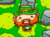 Surround the Leprechaun played 158 times to date. This crafty leprechaun is trying to escape with a pot of gold in this strategic puzzle game. You're not going to let that happen, are you? Surround him with lots of stones so that he won't get away!