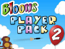 Bloons Player Pack 2 played 1,743 times to date.  Throwing arrows into a strategic point, at least then you blow the balloon in the desired numbe