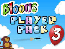 Bloons Player Pack 3 played 264 times to date.  Pop as many balloons as possible using the given darts.