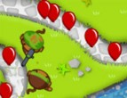 Bloons TD5 played 66767 times to date.  Defend your fort against the evil balloons at all costs using monkey towers and monkey snipers in Bloons TD 5