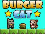 Burger Cat played 927 times to date.  Guide the cat safely to the tasty burgers in this point and click puzzler