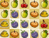 Cave Fruits played 134 times to date.  Match the fruits!