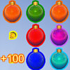 Christmas Balls played 1,248 times to date.  In the game there are a grid of Yule ornaments, you have to match the Christmas ornaments by swapping them. The Christmas ornaments will be matched if a line of 3 or more Christmas ornaments of the same kind are there. When some Christmas ornaments are matched, new Christmas ornaments will be created to take their place. You need to match Christmas ornaments as quickly as possible in order to advance to the next level.