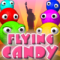 Flying Candy played 569 times to date.  An extremely addictive chain reaction game with a deep upgrade system and a lot of achievements.