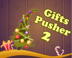 Gifts Pusher 2 played 124 times to date.  Put the Christmas gifts to their places! Use whatever is at hand – books, baseball bats, golf clubs, boxes, magical Christmas hats and many other things!