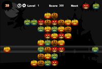 Halloween Pumpkins played 1,657 times to date.  a stacking-puzzle/strategy game... with pumpkins!