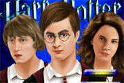 Harry Potter's Magic Makeover played 813 times to date.  We have witnessed Harry Potter's survival of so many thrilling adventures with his friends. As the establishment anniversary of Hogwarts is drawing near, why don't we have a magic makeover for them? Start now and have fun!