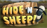 Hide 'n Sheep played 1,156 times to date.  Use your memory skills to pick which barrels those pesky sheep are hiding under!