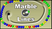 Marble Lines played 167 times to date.  Like the Webkinz Smooth Moves and Zuma games.  Destroy marbles by forming groups of 3 or more marbles of the same color.
