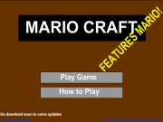 Mario Craft played 32,131 times to date and played 316 times this month.  Mario Craft is an adventure game, so what will you discover when you accompany Mario in this adventure?