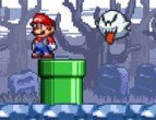 Mario Ghosts 1  played 855 times to date.  Help Mario explore a haunted island as he looks for stars and coins