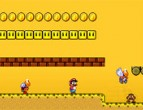 Mario World Game 2 Game played 613 times to date.  Help Super Mario cross through the desert terrain and onto tons of new levels by stomping on his enemies and collecting coins