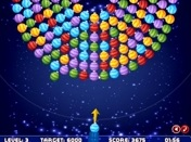 Orbiting Xmas Balls played 189 times to date.  This is a very different bubble shooter game where you will shoot balls towards swinging wheel of balls. To win a level you need to achieve target score. Surplus of your score will help you to pass the next levels.