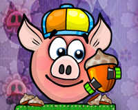 Piggy Wiggy Seasons played 549 times to date. Try and collect all walnuts in Piggy Wiggy Seasons! A fun physics puzzle game.