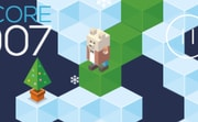 Polar Fall  played 211 times to date.  Help Mr. Bear down the ice steps, avoiding holes and other obstacles.