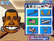 Potato President played 1,328 times to date.  Add parts from the different Presidential Candidates together to create your own Potato President!