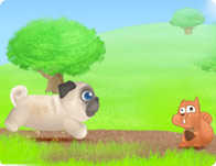 Pug the Dog played 110 times to date.  Run Pug Run!! Avoid the obstacles, and catch the bones along the way.