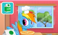 Rainbow Dash Cooking M&M Cake played 167 times to date. Discover a new baking recipe with a fun Rainbow Dash Cake game!